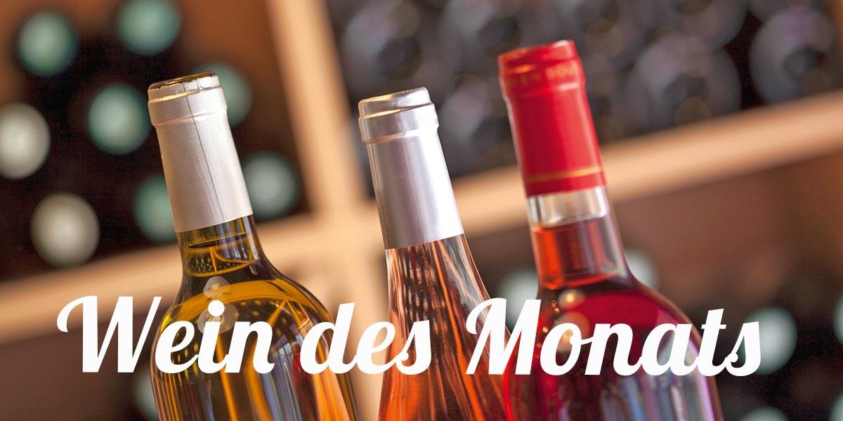 Wein des Monats im April